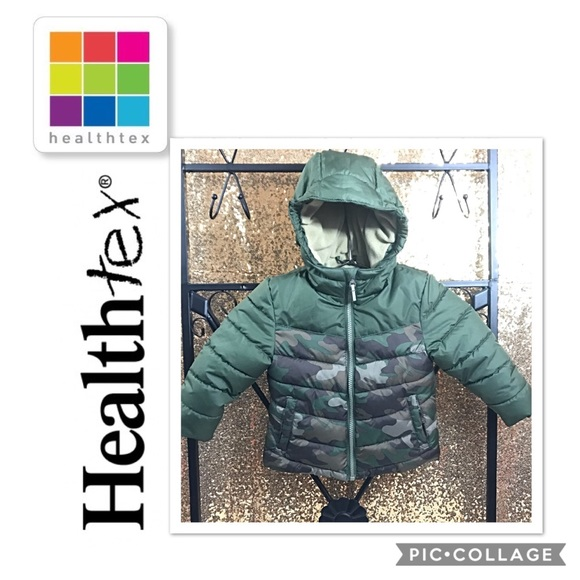 8bf29d18d healthtex Jackets & Coats | Infanttdlr Boys Camouflage Winter Puffer ...